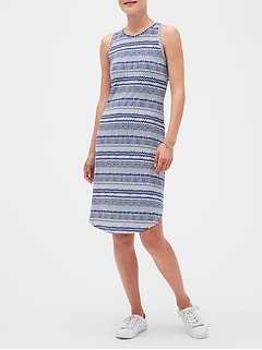 Petite Knot Back Midi Dress