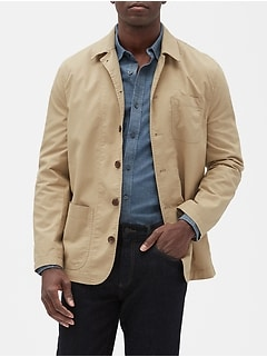 Slim-Fit Summer-Weight Deconstructed Blazer