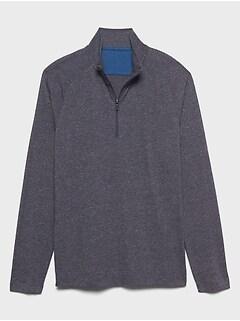 Quick Dry Half Zip Pullover