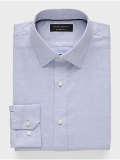 Slim-Fit Non-Iron Blue Shirt