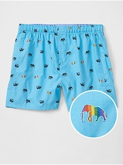 Pride Elephants Boxers (Men's sizes)