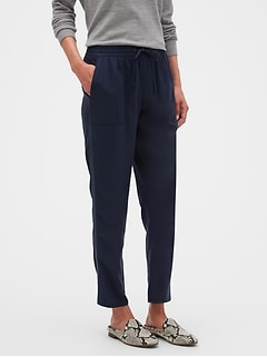 Petite Pull-On Utility Pant