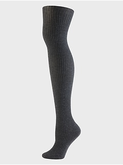 Rib Sweater Tights