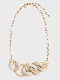 Bone Statement Necklace