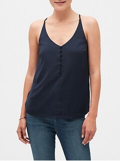 Button Front Camisole