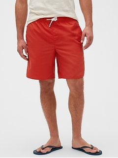 "8.5"" Swim Solid Shorts"