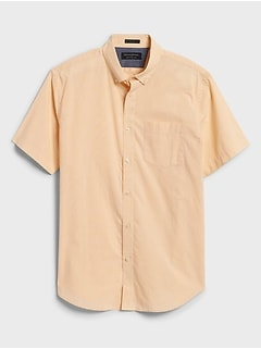 Standard-Fit Soft Wash Yarn-Dye Shirt