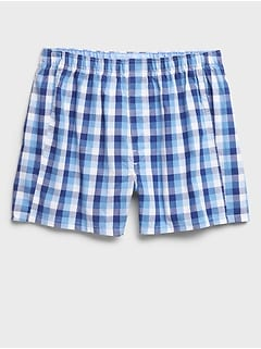 George Plaid Boxers