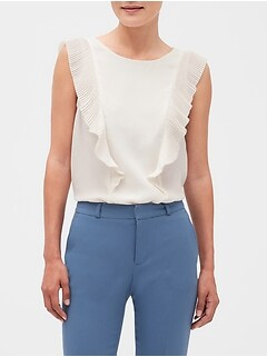 aea6cde48f1 Women's Sleeveless Tops | Banana Republic Factory