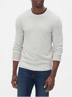 Textured Stitch Pullover Sweater