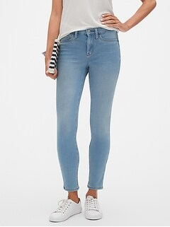 Petite Super Stretch Light Wash Legging Jean