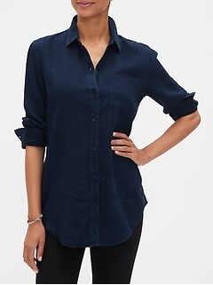 Boyfriend Tencel Shirt