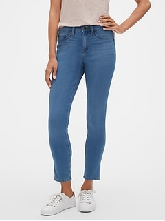 Petite Super Stretch Medium Wash Legging Jean