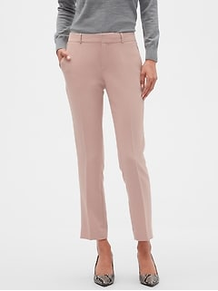 Petite Machine Washable Ryan Pop of Color Pant