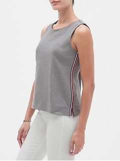 Side Stripe Top