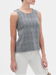 Glen Plaid Tank