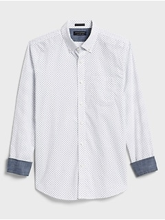 Standard-Fit Soft-Wash Print Shirt