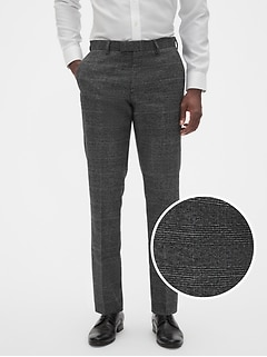 Slim-Fit Stretch Grey Glenn Trouser