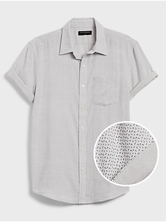 Standard-Fit Double Weave Shirt