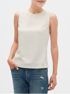 Textured Shell Top
