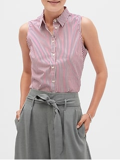 Stripe Tailored Shirt