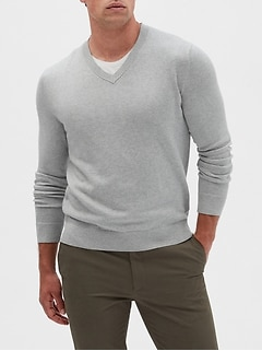 Premium Luxe V-Neck Sweater