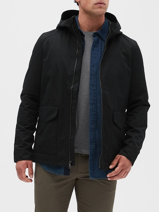 Water Resistant City Jacket by Banana Repbulic