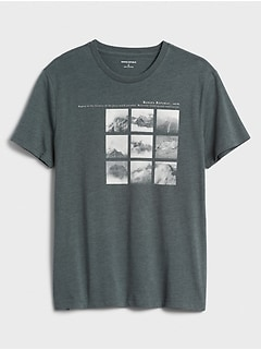 Mountain Photos Graphic T-Shirt