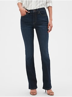 Curvy Fit Sculpt Dark Wash Slim Boot Jean