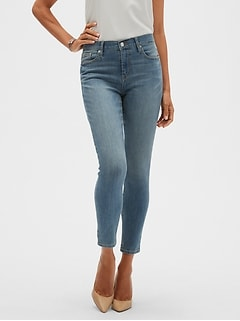 Light Wash Skinny Ankle Jean