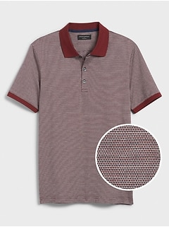 Jacquard Dress Polo