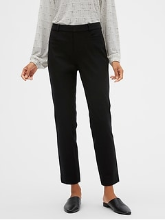 High Rise Sloan Slim Ankle Pant