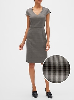Tattersall Sheath Dress