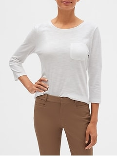 Malibu Step-Hem Top