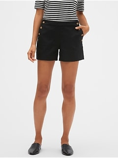 Sailor Pique Shorts - 4 inch inseam