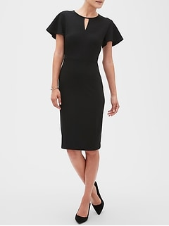 Keyhole Sheath Dress