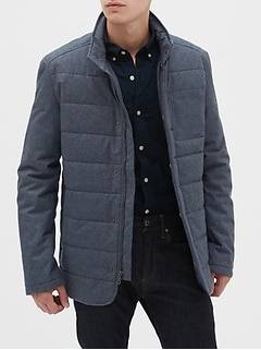 Heather Quilted Jacket