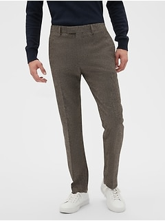 Slim-Fit Tweed Trouser