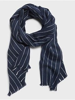Chalk Stripe Scarf