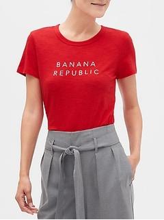 Banana Republic Logo T-Shirt