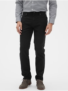 Slim Brushed Travel Jean