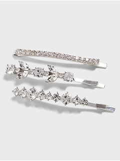 Sparkle Hair Clips (3 Pack)