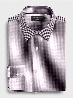 Slim-Fit Non-Iron Yarn-Dye Shirt