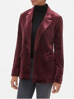 Velvet Soft Long Blazer