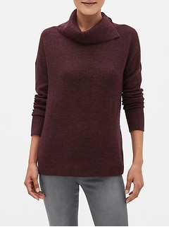 Cozy Cowl-Neck Sweater