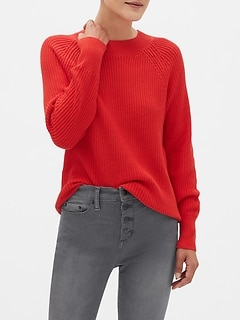 Chunky Crew-Neck Sweater