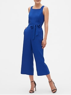 Rounded Square Neck Jumpsuit