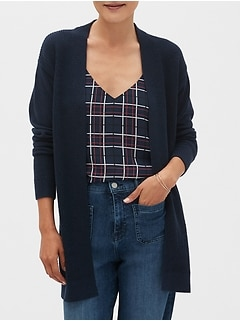Open-Front Cardigan