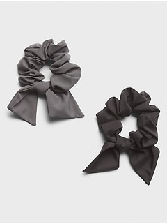 Bow Scrunchie (2 Pack)