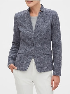 Inverted Collar Blazer